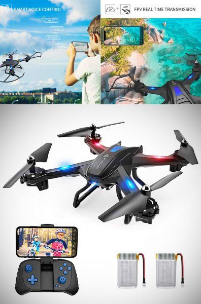 SNAPTAIN S5C WiFi FPV Drone with 720P HD Camera 2019 hottest holiday gift ideas photographers