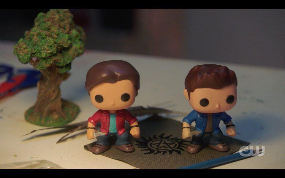 Sam Dean Winchester Pop Funko dolls ending SPN Atomic Monsters
