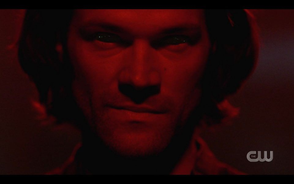 Sam Winchester possessed by evil LuciferSam for Dean