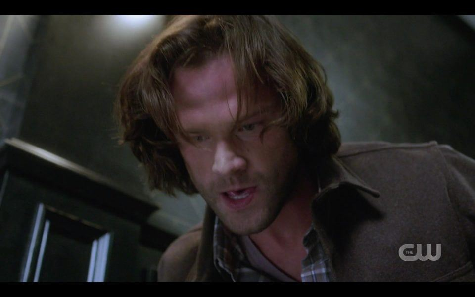 Sam Winchester tackles mother witch Supernatural 1506
