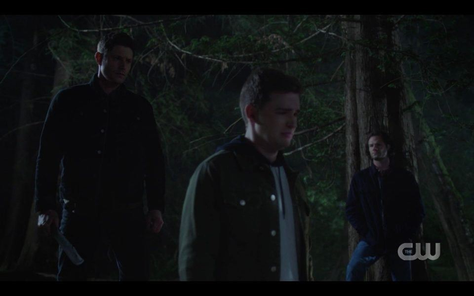 Sam watches Dean carry Billy away as vampire SPN Atomic Monsters