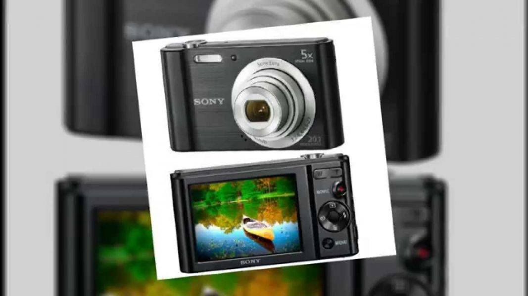 Sony DSCW800B 20.1 MP Digital Camera 2019 hottest holday gift ideas