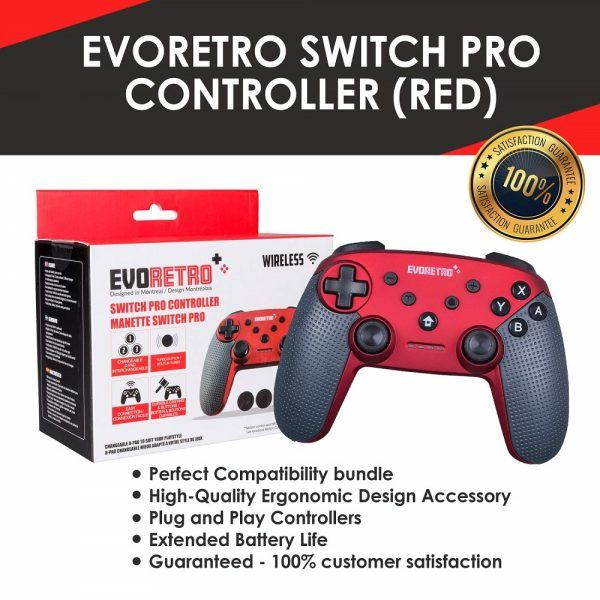 Switch Pro Wireless Controller 2019 hottest holiday retro gamer gift ideas