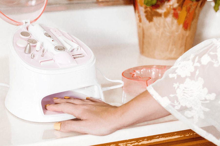 True Glow by Conair All-in-One Nail Care Center 2019 hottest holiday beauty gifts for nails