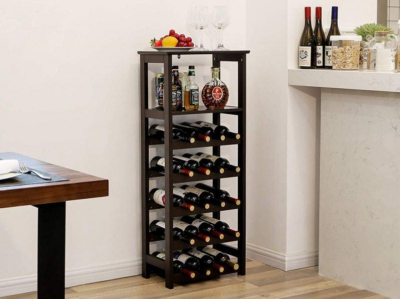 VASAGLE 20 Wooden Wine Rack 2019 hottest holiday kitchen gifts