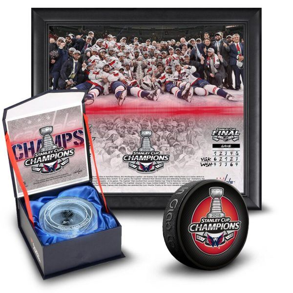Washington Capitals 2018 Stanley Cup Champions Collectibles Bundle 2019 hottest holiday sport gift ideas