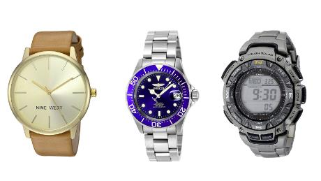 Watches from top brands hot holiday gift deals