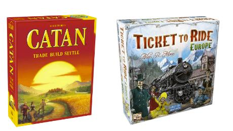 catan ticket to ride hot holiday game ideas 2019