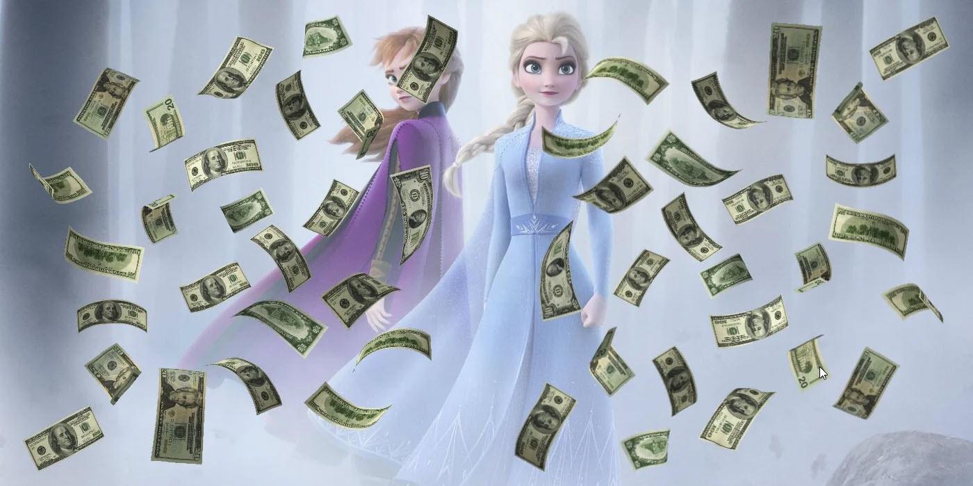 frozen 2 tops box office weekend 2019