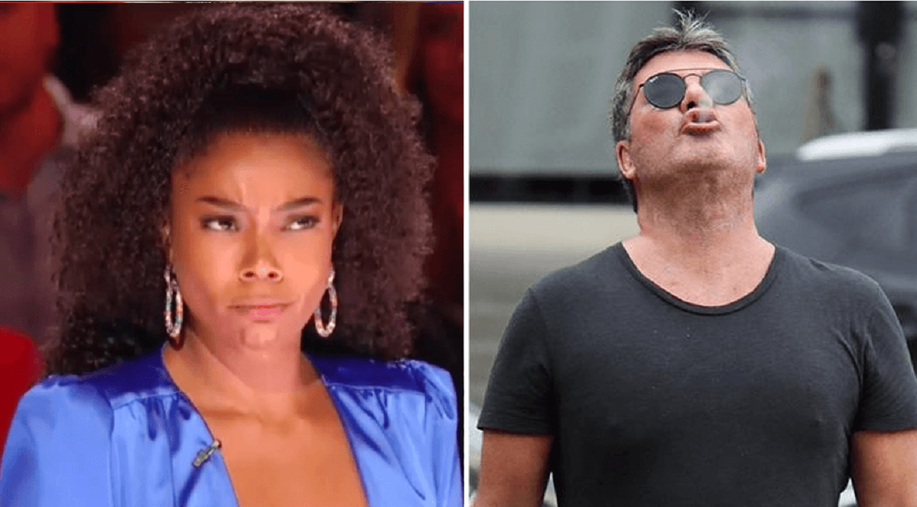 gabrielle union reacts to simon cowell smoking firing agt 2019