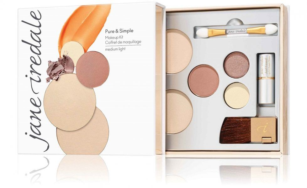 jane iredale Pure & Simple Makeup Kit 2019 hottest holiday skincare beauty gift ideas