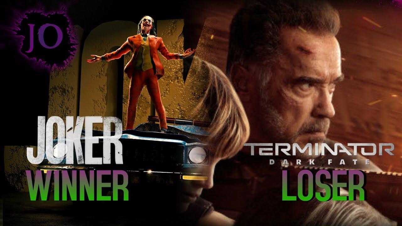 joker wins box office while terminator dark fate bombs 2019