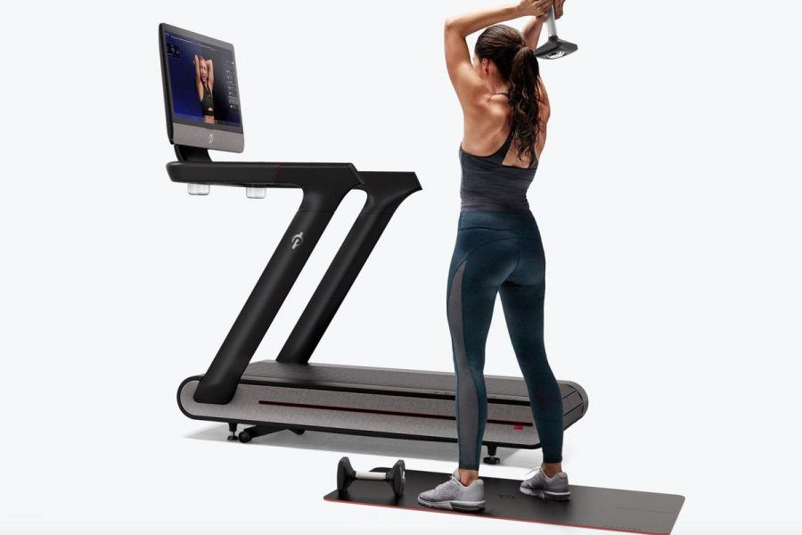 peloton treadmill woman working out hottest holiday gym gifts 2019