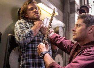 supernatural 1505 provers 173 dean holding knife up to lucifer sam