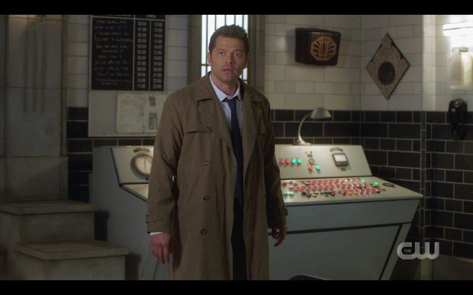 Castiel angry at Dean Winchester Last Call SPN