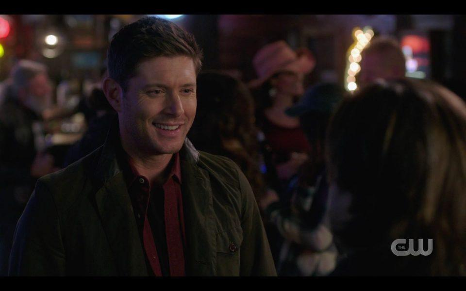 Dean Winchester happy to see Lee Christian Kane for hugging SPN