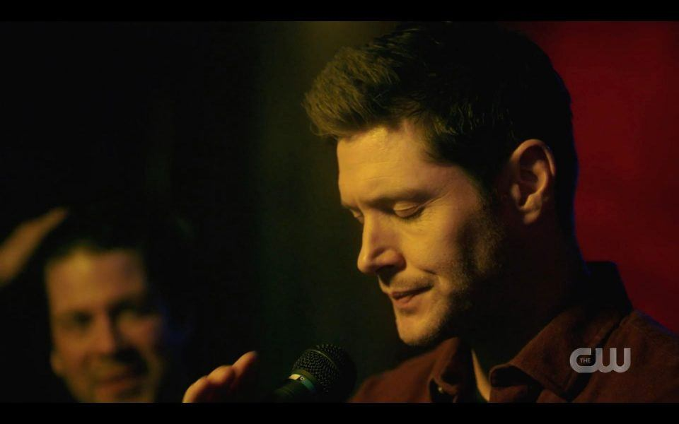 Dean Winchester ready to sing with Christian Kane 2019