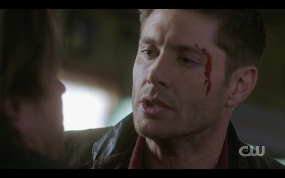 Dean Winchester trying to save Lee Christian Kane SPN