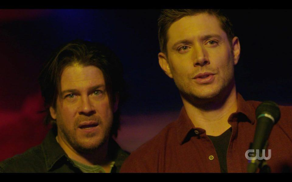 Jensen Ackles arms up with Christian Kane for Supernatural 2019