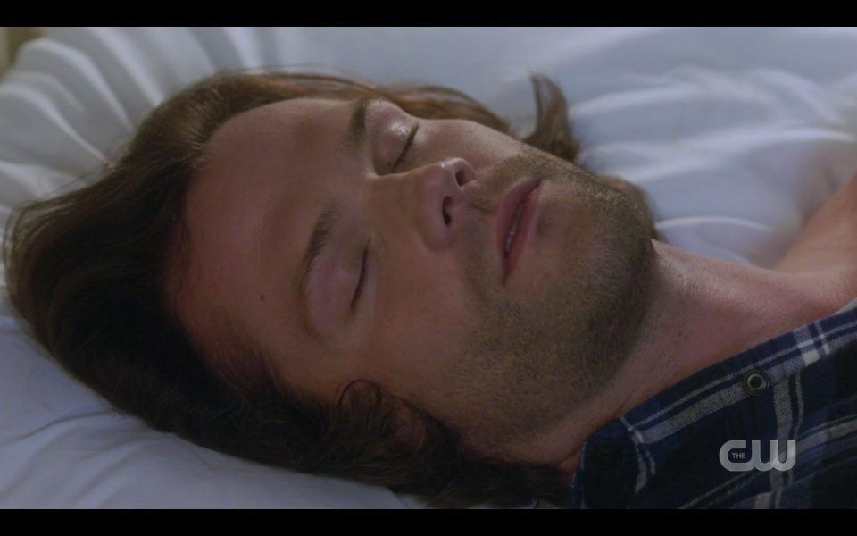 Sam Winchester dying in hospital bed SPN 1507