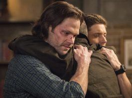 supernatural 1508 our father who arent in heaven winchester boys cry hug