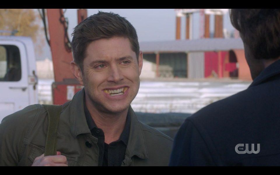Dean Winchester excited to play with long hard launcher for Jared Padalecki