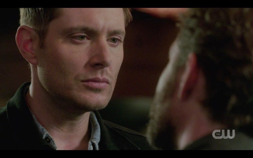 Dean Winchester fighting Chuck SPN 1509