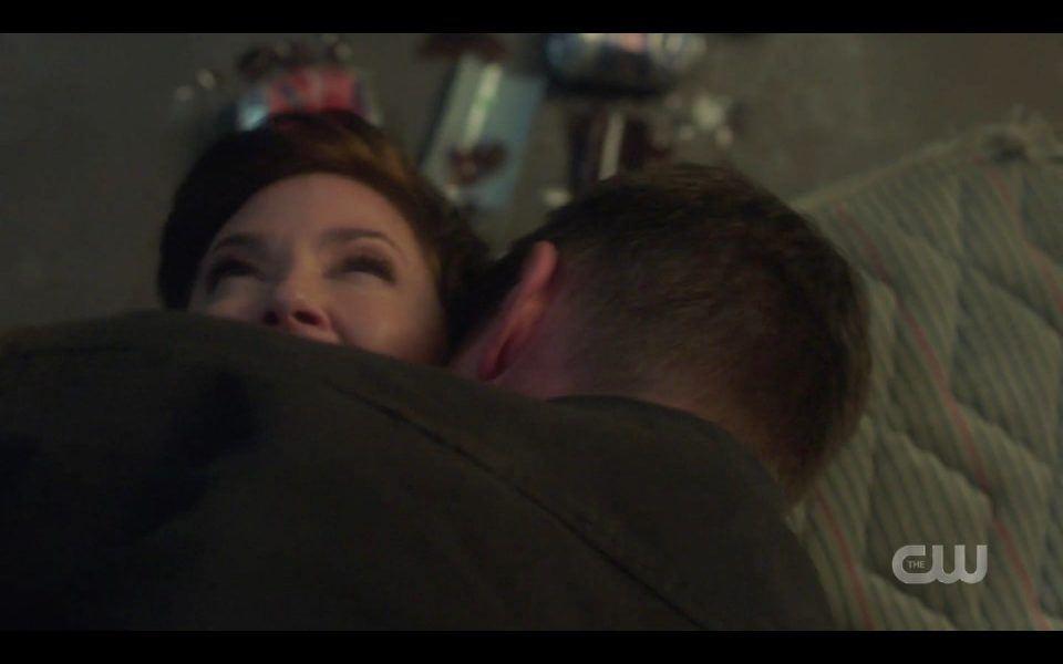Dean Winchester kills Jody Kim Rhodes with a bite SPN 1509