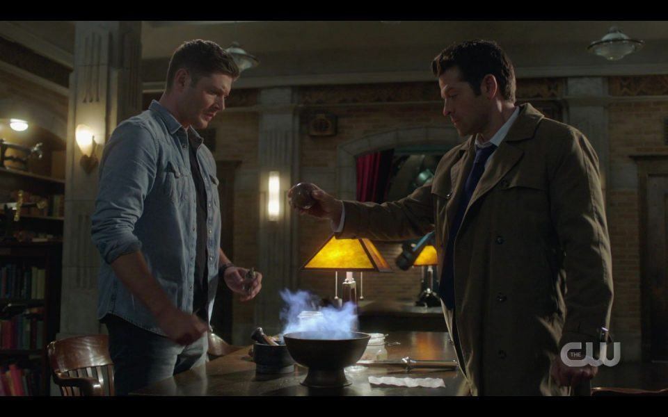 Dean Winchester realizes how much he loves Castiel SPN 1509