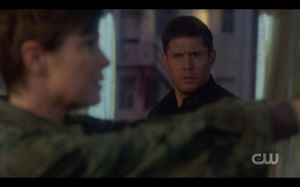 Dean Winchester sees Jody shooting Sam SPN