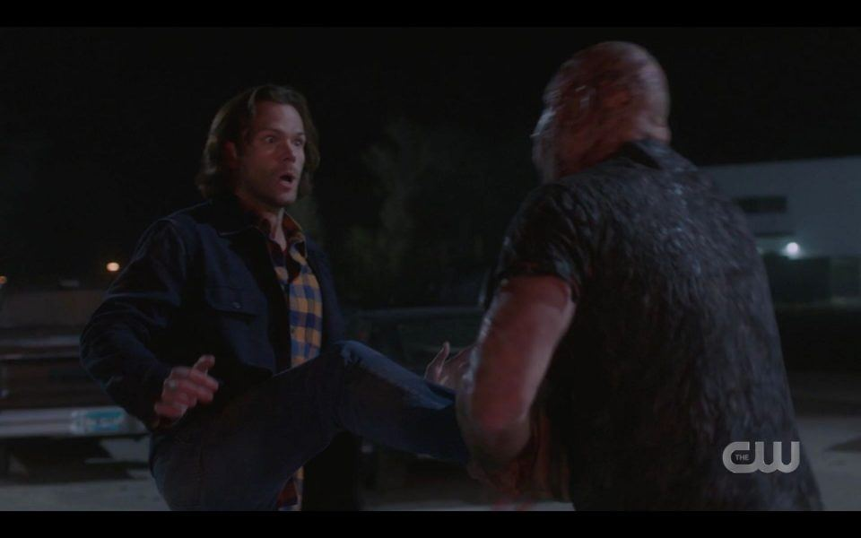 Maul trying to attack Jared Padalecki 1510