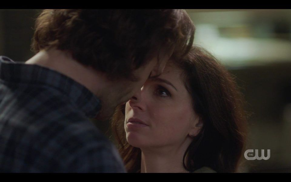 Shoshannah Stern Eileen with Sam SPN The Hurt