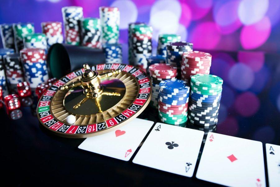 creating perfect casino themed party images