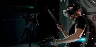 future of free roam immersion virtual reality.