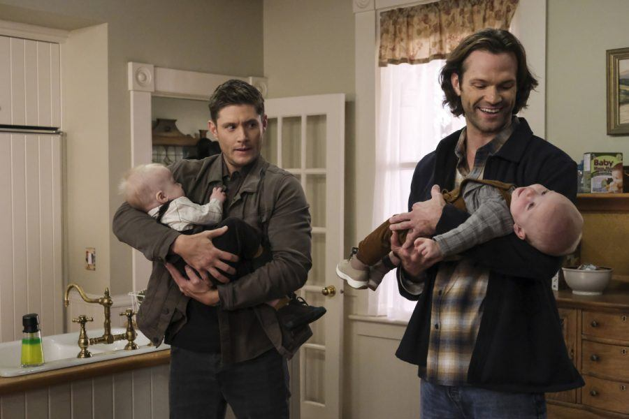 supernatural 1510 the heroes winchester brothers with babies