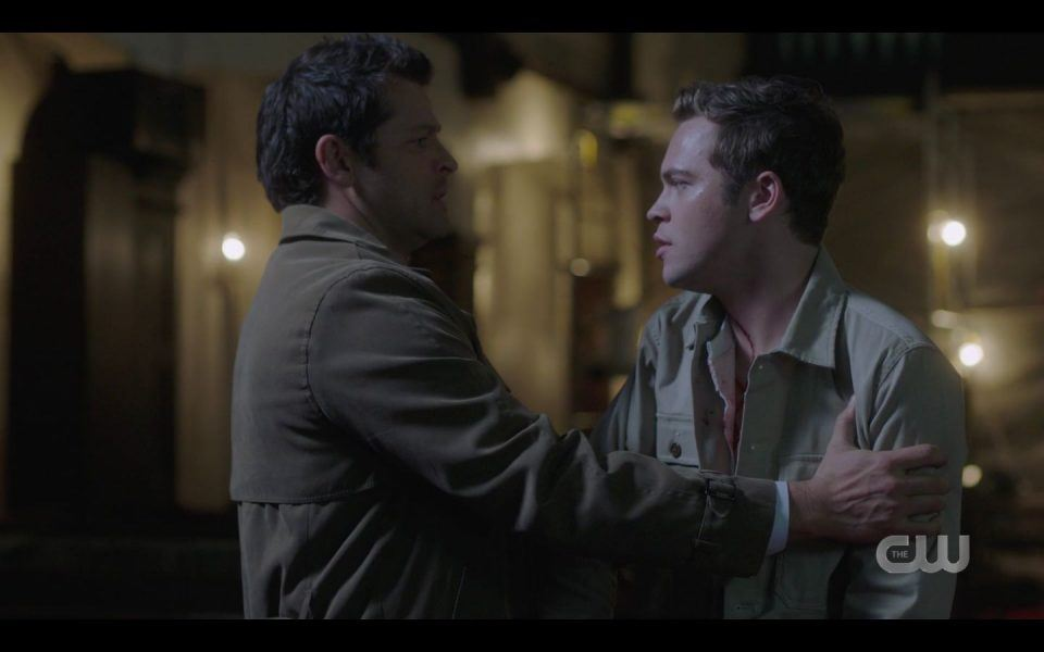 Castiel happy Jack is back in his arms again SPN 1511