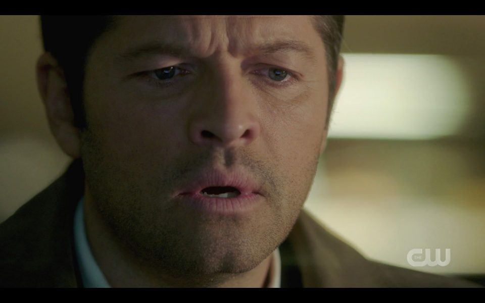 Castiel learns police are hunting down Jack for killing doctor