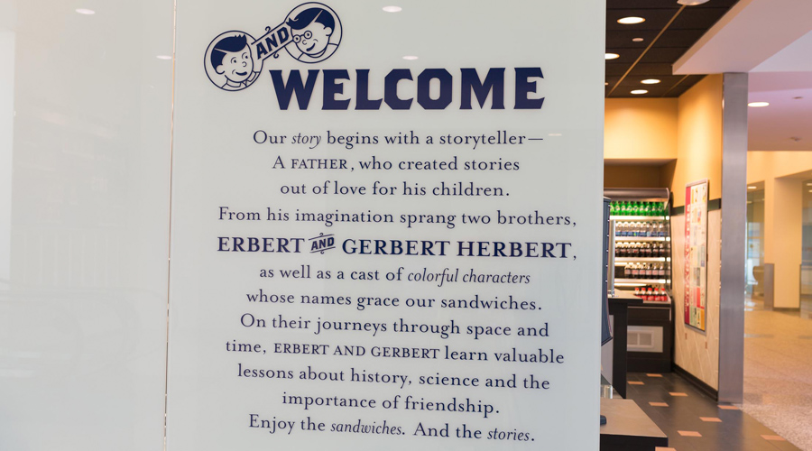 erbert gerbert stories for sandwiches