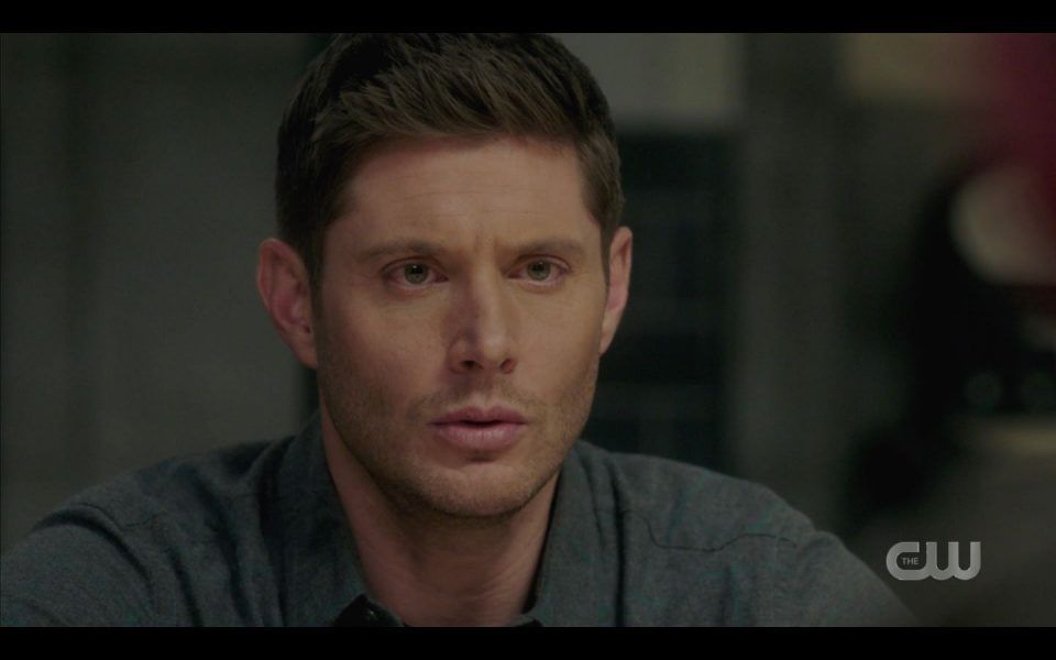 AU Dean reacts talking to real Dean Winchester SPN