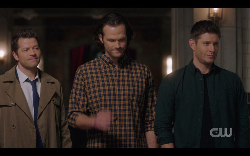 Castiel Winchester Brothers see Jody excited SPN