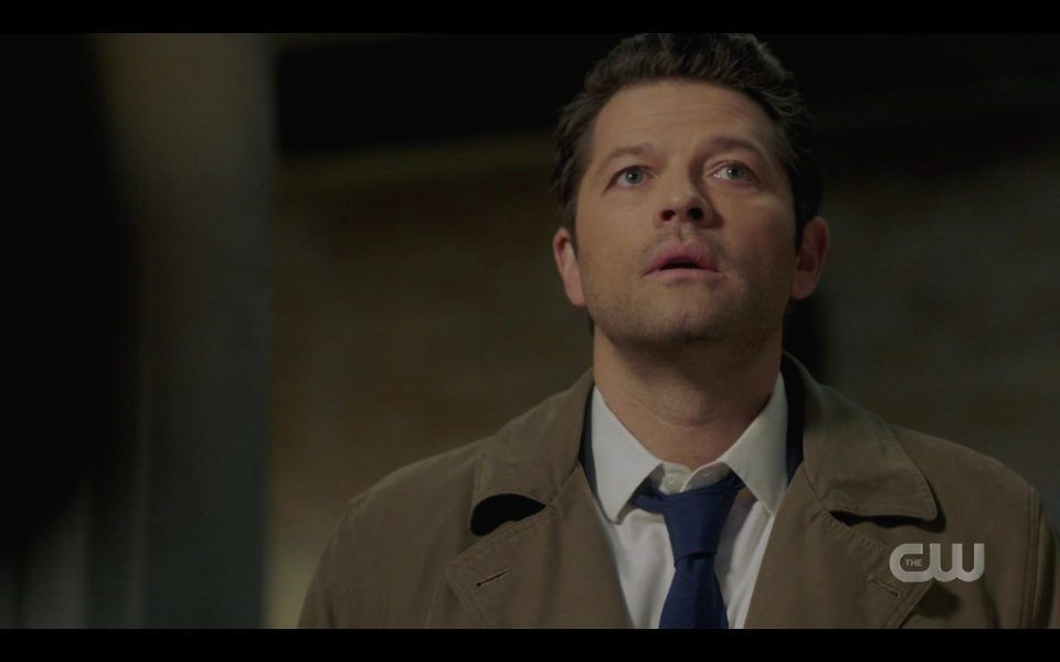 Castiel annoyed by Dean Winchester pirate questions SPN