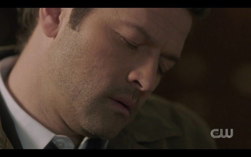 Castiel asleep while in the Empty looking for Ruby SPN