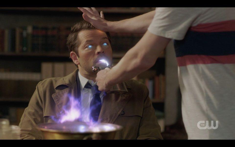 Castiel has Jack try to kill him for The Empty SPN