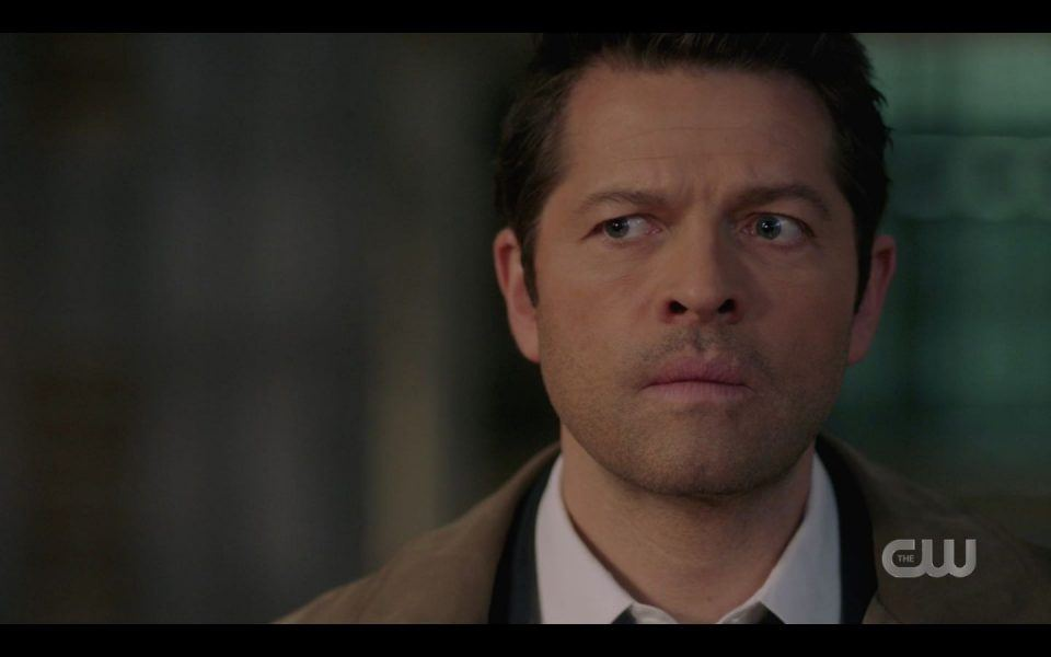 Castiel reacts to Lisa Berry death role in Supernatural 1512