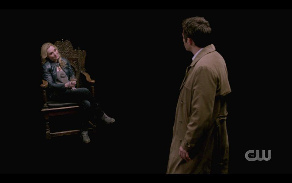 Castiel thinks Rachel Miner is Meg in the Empty SPN