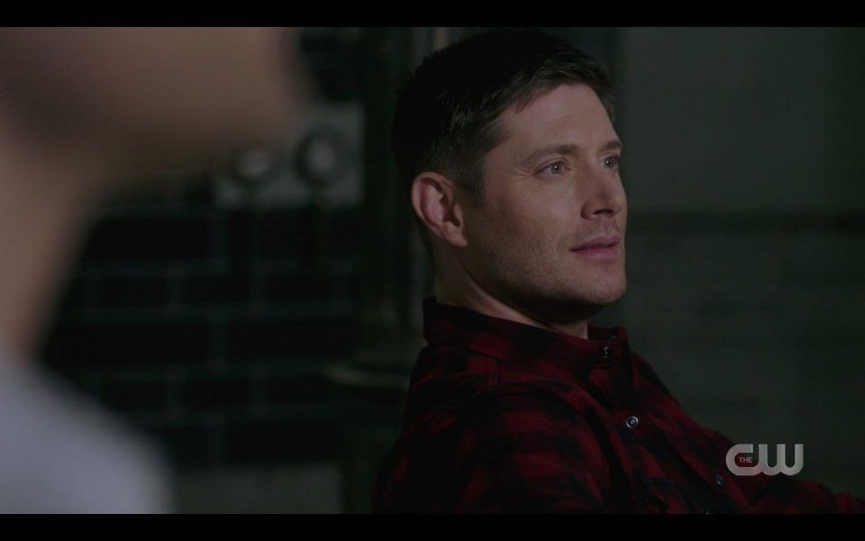 Dean Winchester No investor calls justing monsters and watching porn SPN 1513