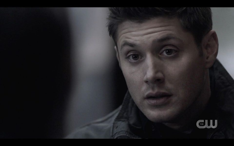 Dean reacts to Billie telling him Sam and he are destruction of God SPN