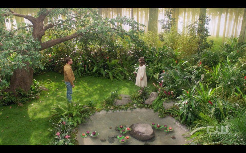 Girl tells Jack God banished humanity and hit Garden of Eden away SPN