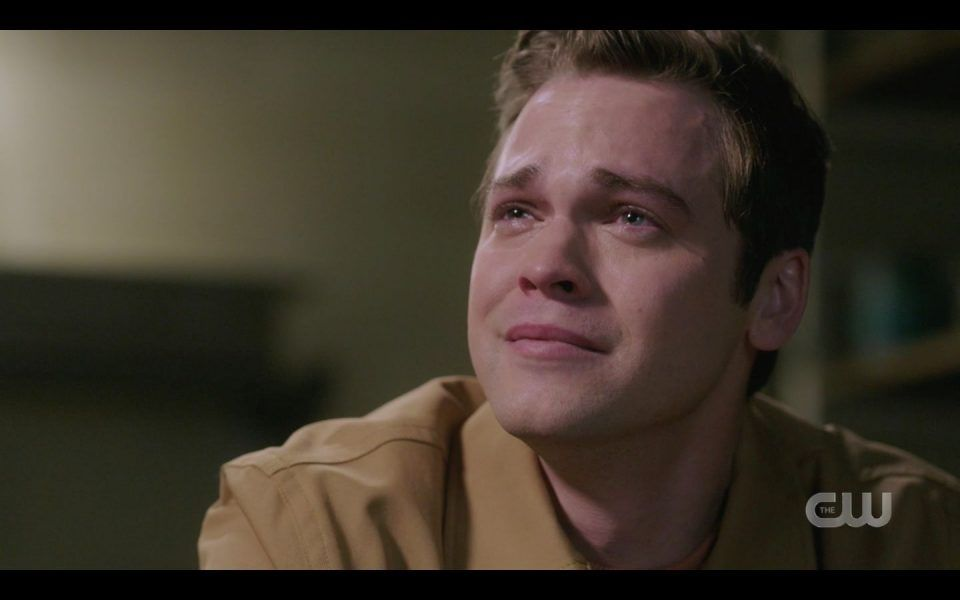 Jack cries seeing how much he hurt Dean Sam Winchester killing Mary SPN