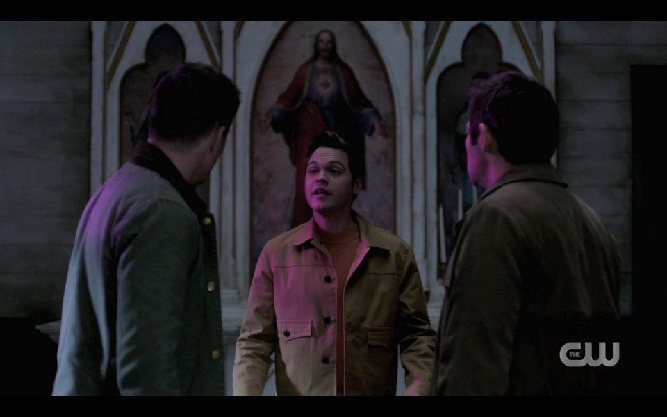 Jack tells Dean Sam Winchester he ate Occultum SPN